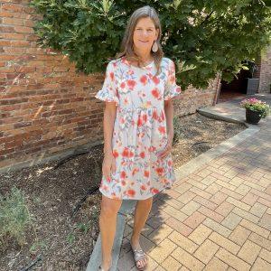 Short Floral Dress | Ivy Rose Longmont