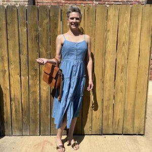 Casual Blue Summer Dress | Ivy Rose Longmont