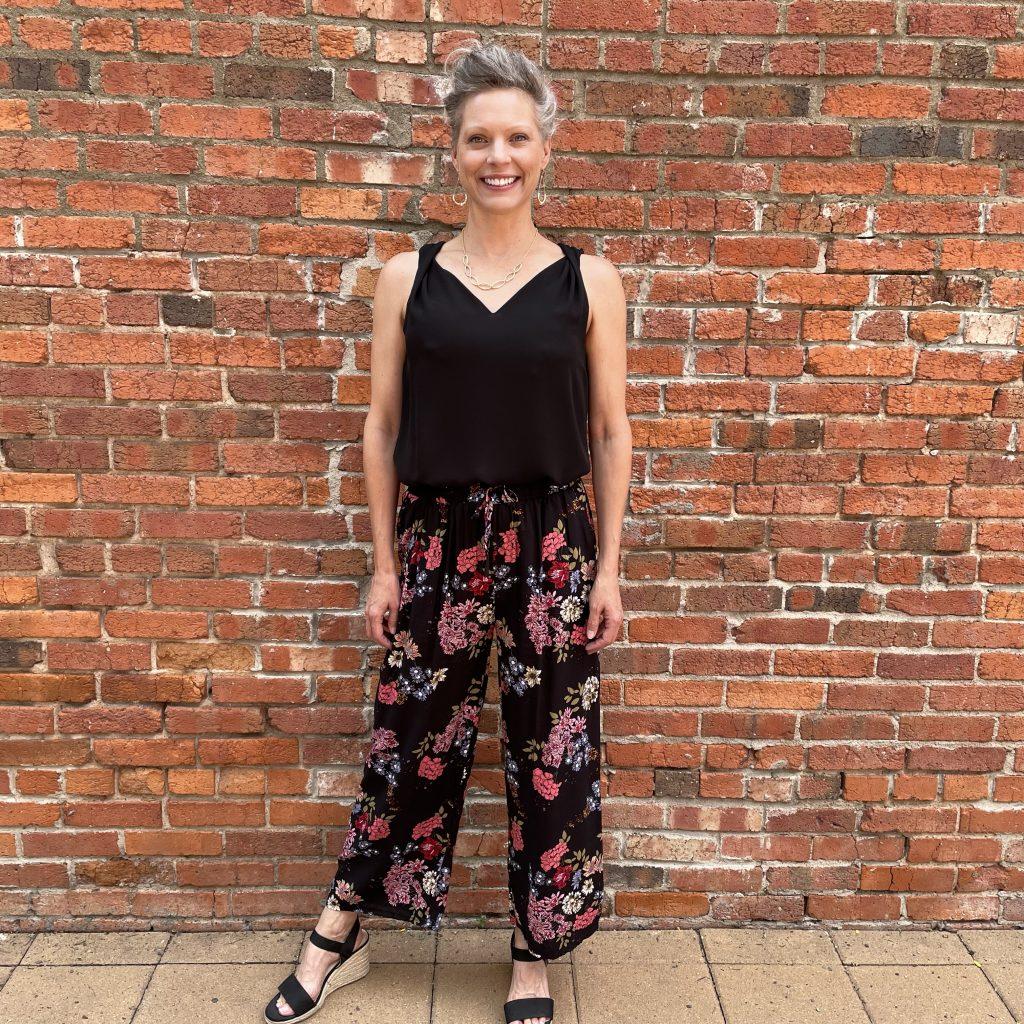 Floral Pants | Ivy Rose Longmont