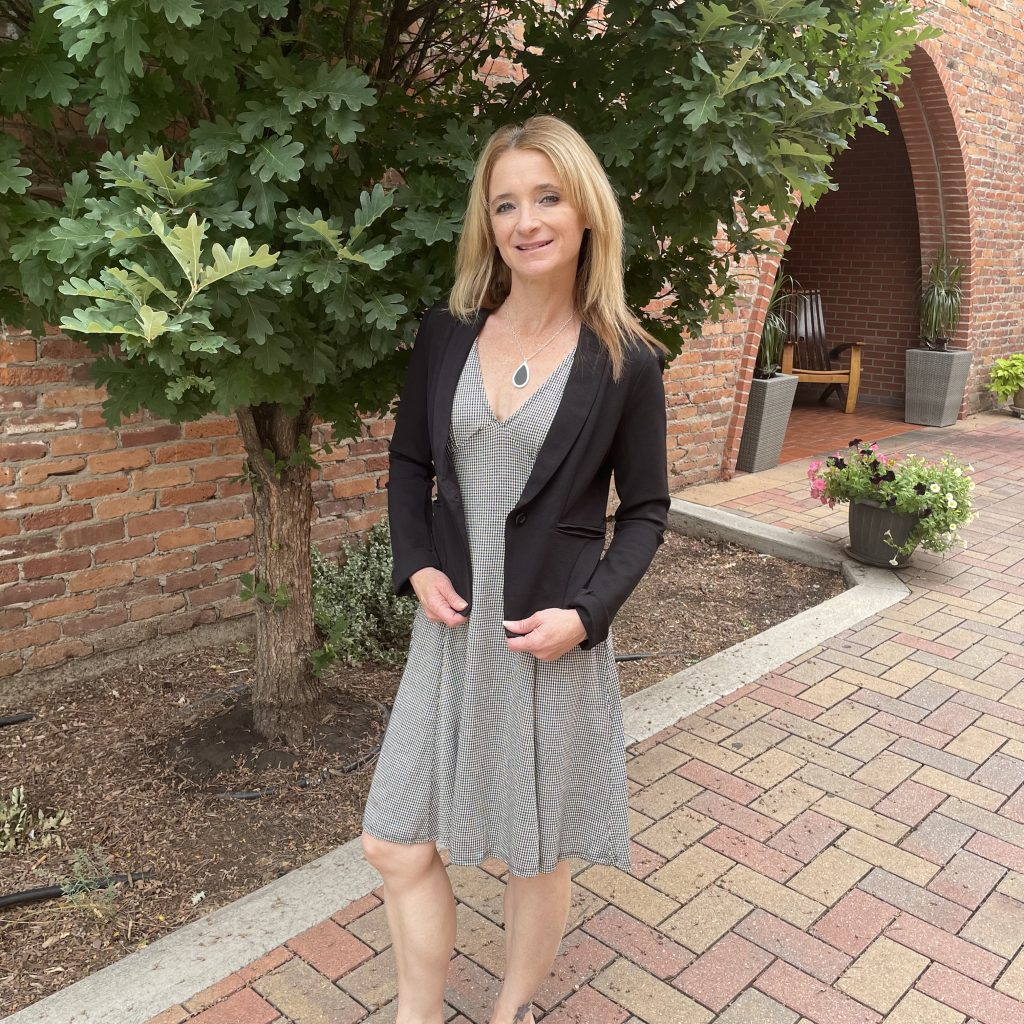 Dress with Black Blazer | Summer Style Ideas