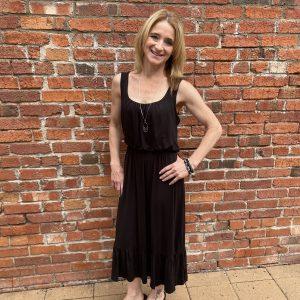 Comfortable Black Dress | Ivy Rose Longmont