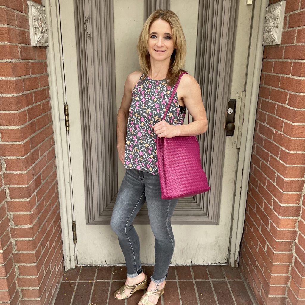 Pink Floral Top | Ivy Rose Longmont