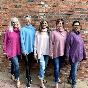 Long Sleeve, High Neck Sweaters at Ivy Rose
