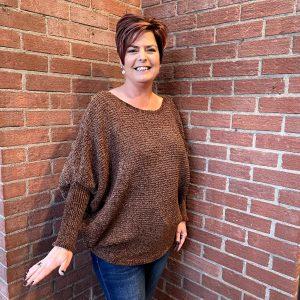 Brown Sweater for Fall Season