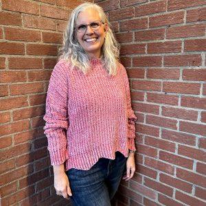 Soft, Pink Fall Sweater | Ivy Rose Fall