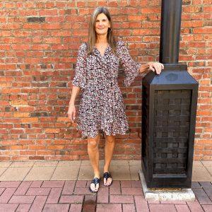 Flare Sleeve Dress at Ivy Rose